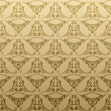 Free Seamless Retro Background Pattern Royalty Free Stock Images - 18865989