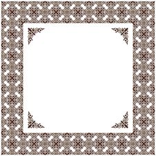 Free Vector Vintage Decor Frame Ornament Retro Stock Photo - 18866180