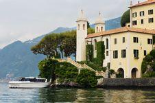 Free Villa Balbianello On Lake Como Royalty Free Stock Images - 18866369