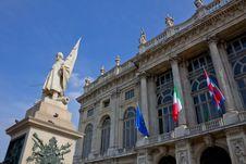 Free Palazzo Madama In Turin Stock Photo - 18866420