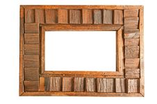Free Wooden Frame Isolate Royalty Free Stock Photo - 18866595