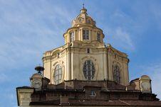 Free Royal Church Of San Lorenzo In Turin Stock Photos - 18866623