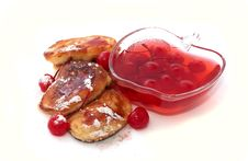 Free Pancakes With Jam Royalty Free Stock Photography - 18866917