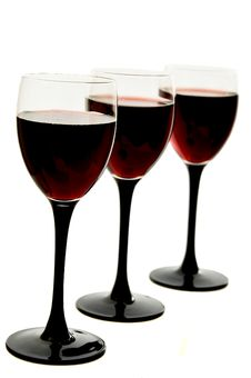 Free Red Wine In Glass Glasses Stock Photos - 18867583