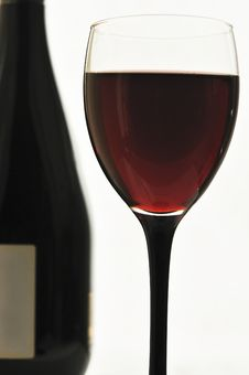 Free Red Wine In Glass Glasses Royalty Free Stock Photography - 18867597