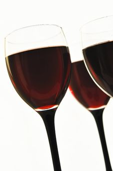 Free Red Wine In Glass Glasses Stock Images - 18867604
