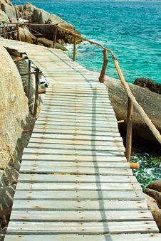 Free Board Walk Stock Photo - 18867700