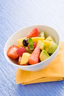 Free Fruit Salad Royalty Free Stock Photo - 18868805