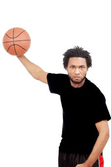 Free Basketball Player Royalty Free Stock Photos - 18868808