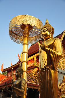 Free Golden Buddha Royalty Free Stock Photo - 18869405