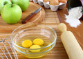 Free Components For Baking Apple Pie. Royalty Free Stock Photos - 18871558