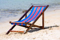 Free Sunbed On The Beach Royalty Free Stock Photo - 18875835