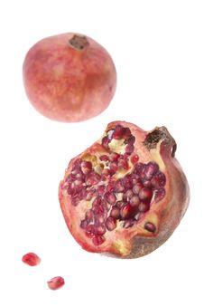 Free Pomegranates Stock Photography - 18870042