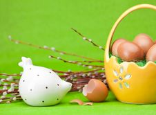 Free Easter Eggs Royalty Free Stock Photo - 18870225