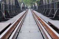 Free Railway Lines. Stock Image - 18871501