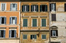 Houses, Rome Stock Images