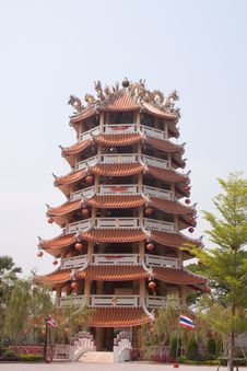 Free Pagoda Chinese High Stock Photos - 18872113