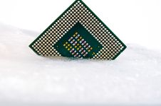 Free Processor In Ice Stock Photography - 18872212
