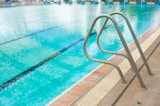 Free Some Steel Into The Pool. Royalty Free Stock Photography - 18872647