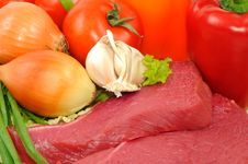 Free Beef And Vegetables Stock Image - 18872661