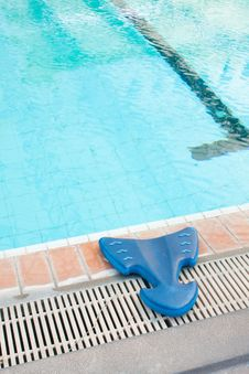Free Learn To Swim Equipment. Stock Images - 18872694