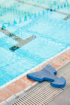 Learn To Swim Equipment. Royalty Free Stock Photos