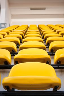 Free Yellow Chair. Stock Image - 18874851