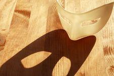 Free Mask On Wood Royalty Free Stock Image - 18874976