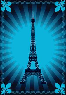 Free Eiffel Tower  Illustration Stock Images - 18877824