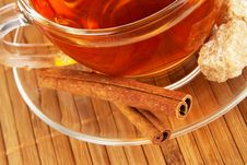 Free Tea With Cinnamon And Sugar Royalty Free Stock Images - 18878859