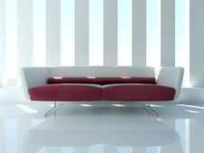 Free White Sofa Royalty Free Stock Photo - 18878955