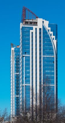 Free Modern High-rise Apartment Building Royalty Free Stock Photography - 18879027