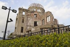 Free Atomic Bomb Dome In Hiroshima Royalty Free Stock Photography - 18879177