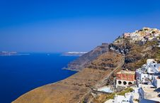 Free Santorini View - Greece Stock Image - 18879201