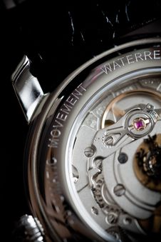 Free Wrist Watch Mechanism Royalty Free Stock Images - 18881099