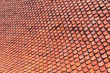Free Orange Roof Stock Image - 18881971