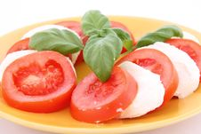 Free Caprese Salad Royalty Free Stock Photo - 18884035
