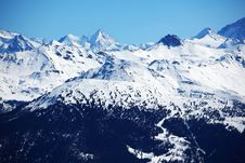 Top Of Mountains Royalty Free Stock Images