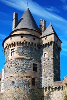Free Castle, France Stock Images - 18884524