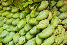 Free Green Mango Royalty Free Stock Image - 18884556