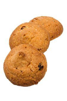 Three Cookies Stock Image