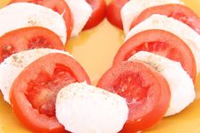 Free Caprese Salad Royalty Free Stock Photo - 18885175