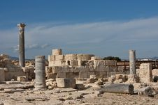 Free Ancient Ruins In Kourion Place Royalty Free Stock Image - 18885786