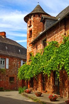 Free Old Traditional French House. Collonges La Rouge Stock Image - 18886171