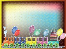 Free Birthday Postcard Royalty Free Stock Image - 18886566