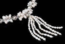 Free A Part Of A Pearl Necklace Stock Image - 18888031