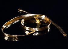 Free A Precious Golden String Royalty Free Stock Photo - 18888215