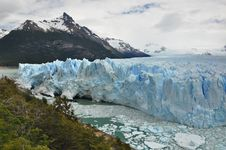 Mountain Glacier Stock Image