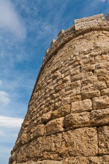 Free Tower Wall Venetian Castle Royalty Free Stock Image - 18888486