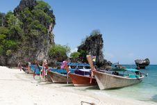 Free Traditional Boat Of Thailand Stock Photo - 18888880